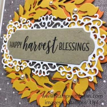 All-Around Wreath Dies, Ornate Frames Dies, Country Home, Stampin' Up!, Brian King
