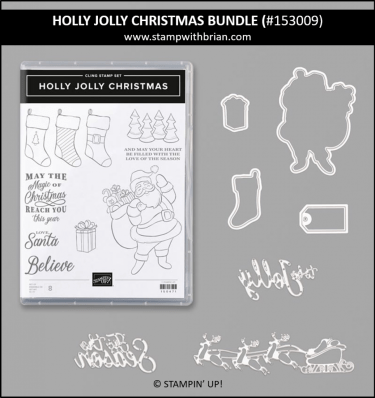 Holly Jolly Christmas Bundle, Stampin' Up! 153009