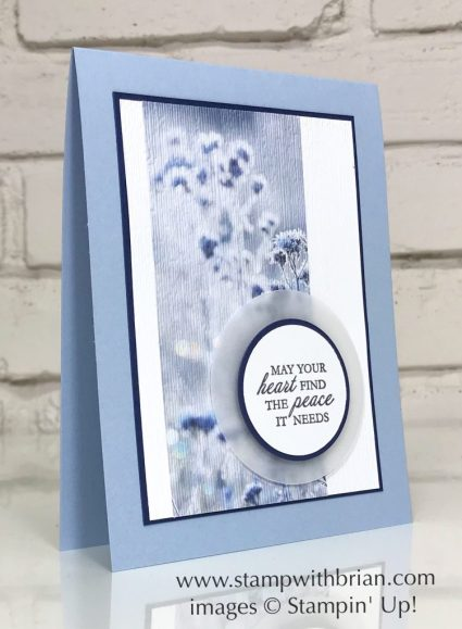 Here's a Card, Feels Like Frost Specialty, Stampin' Up!, Brian King, Sympathy card