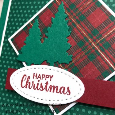 Itty Bitty Christmas, Wrapped in Plaid, Snow Globe Scenes, Stampin' Up!, Brian King