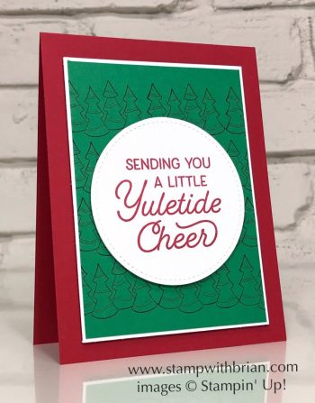 Holly Jolly Christmas, Frosted Foliage, Holly Jolly Christmas, Frosted Foliage, Stampin' Up!, Brian King