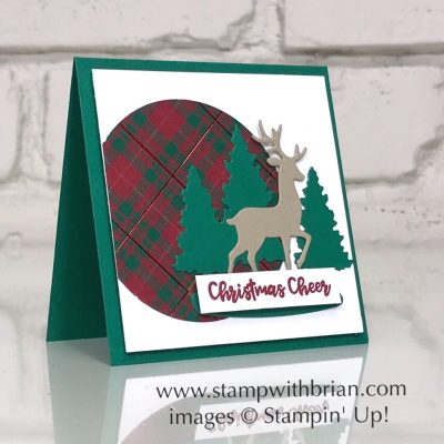 Snow Globe Scenes Dies, Itty Bitty Christmas, Stampin' Up!, Brian King