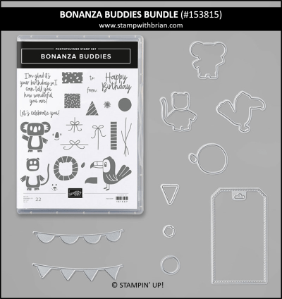 Bonanza Buddies Bundle, Stampin Up! 153815
