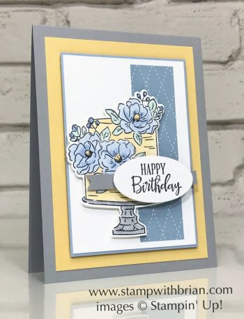 Happy Birthday to You, Peaceful Moments, Stampin Up!, Brian King, birthday card