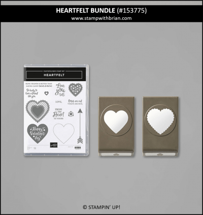 Heartfelt Bundle, Stampin Up! 153775