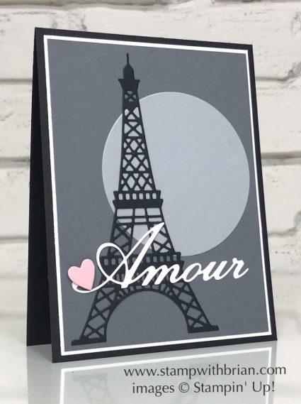 Parisian Dies, Parisian Beauty, Stampin' Up!, Brian King