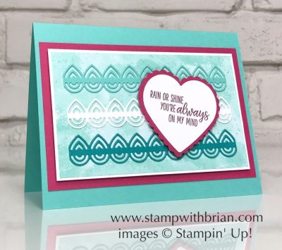 Under My Umbrella, Lily Dies, Stampin Up!, Brian King