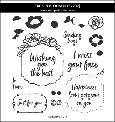 Tags in Bloom, Stampin Up! 152292