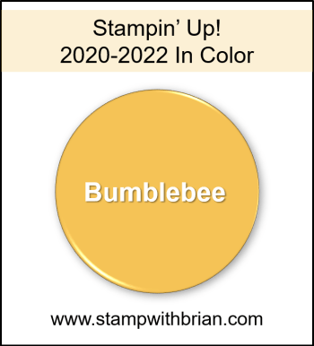 Bumblebee, Stampin Up! 2020-2022 In Color