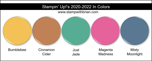 Stampin Up! 2020-2022 In Colors