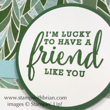 Love What You Do, Stampin' Up!, Brian King