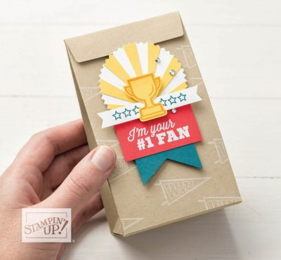 Starburst Punch Sample in Stampin Up! 2019 Annual Catalog