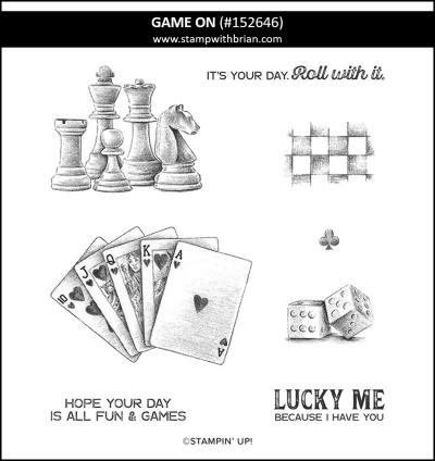 Game On, Stampin Up! 152646