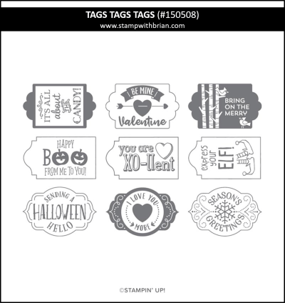 Tags Tags Tags, Stampin Up!, 150508