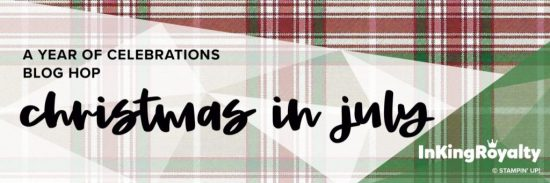 InKing Royalty Blog Hop - Christmas in July