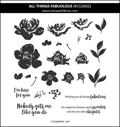 All Things Fabulous, Stampin Up!, 152602