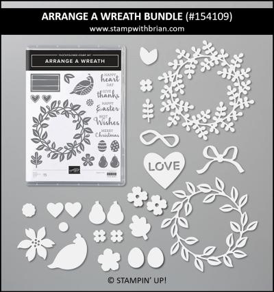 Arrange a Wreath Bundle, Stampin Up! 154109