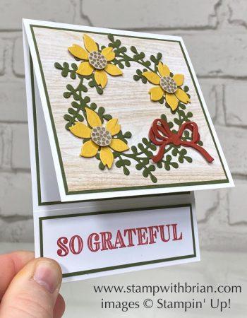 Arrange a Wreath Bundle, Stampin Up!, Brian King
