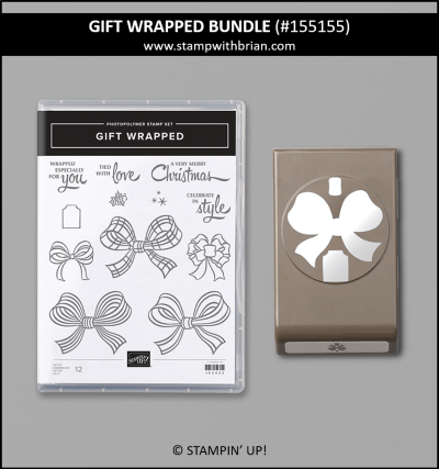 Gift Wrapped Bundle, Stampin Up! 155155