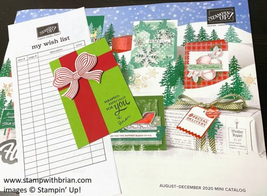 Gift Wrapped Bundle, Stampin Up!, Brian King