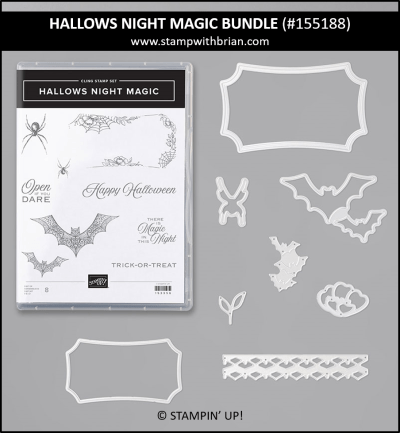 Hallows Night Magic Bundle, Stampin Up! 155188