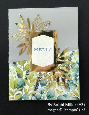 by Bobbi Miller, Sending Love One-for-One Card Swap, Stampin Up!