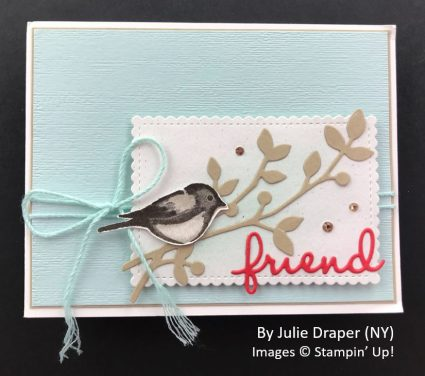 by Julie Draper, Sending Love One-for-One Card Swap, Stampin Up!