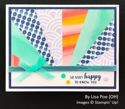 by Lisa Poe, Sending Love One-for-One Card Swap, Stampin Up!