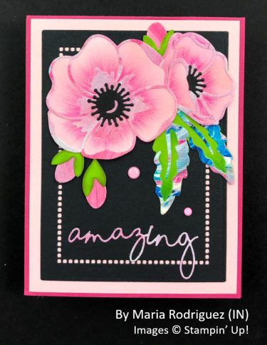by Maria Rodriguez, Sending Love One-for-One Card Swap, Stampin Up!