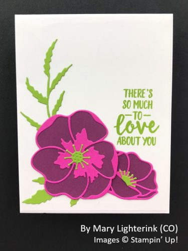 by Mary Lighterink, Sending Love One-for-One Card Swap, Stampin Up!
