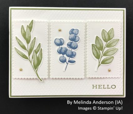 by Melinda Anderson, Sending Love One-for-One Card Swap, Stampin Up!