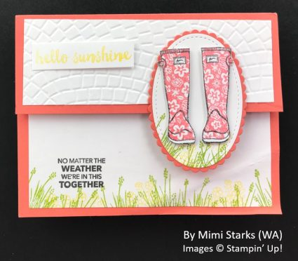 by Mimi Starks, Sending Love One-for-One Card Swap, Stampin Up!