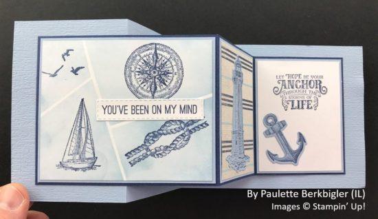 by Paulette Berkbigler, Sending Love One-for-One Card Swap, Stampin Up! 2
