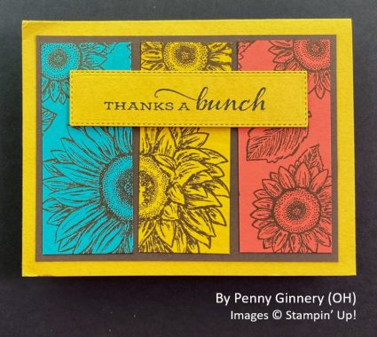 by Penny Ginnery, Sending Love One-for-One Card Swap, Stampin Up!