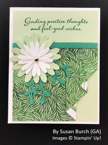 by Susan Burch, Sending Love One-for-One Card Swap, Stampin Up!