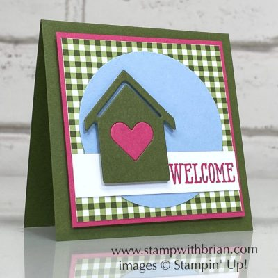 Home Together Dies, Well Said, Stampin Up!, Brian King