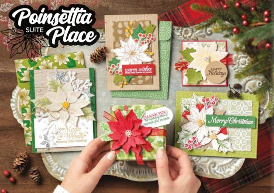 Poinsettia Place Suite, Stampin Up!