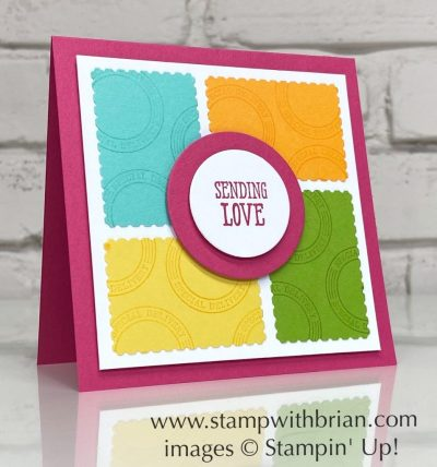 Posted for You, Well Written, Stampin Up!, Brian King