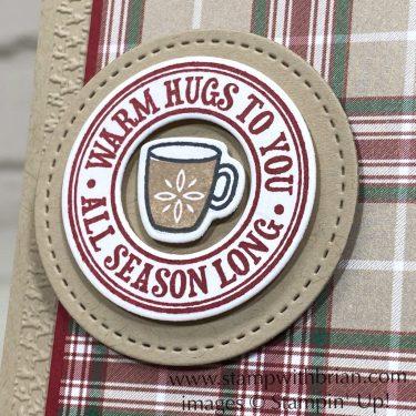 Warm Hugs Bundle, Plaid Tidings, Stampin Up!, Brian King