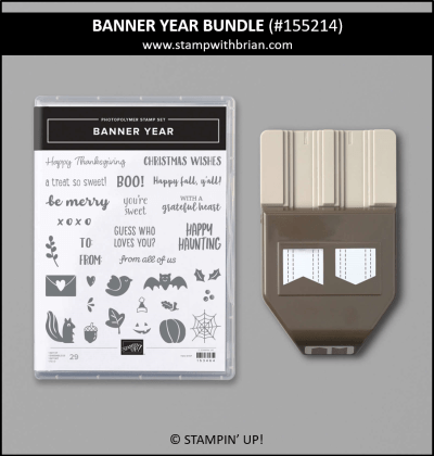 Banner Year Bundle, Stampin Up! 155214