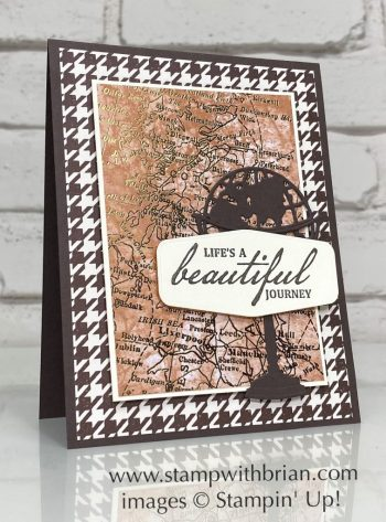 Beautiful World, Stampin Up!, Brian King