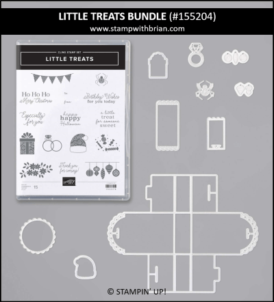 Little Treats Bundle, Stampin Up! 155204