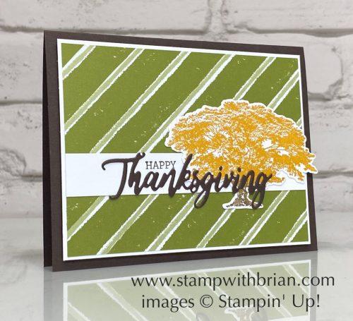 Rooted in Nature, Word Wishes, Stampin Up!, Brian King
