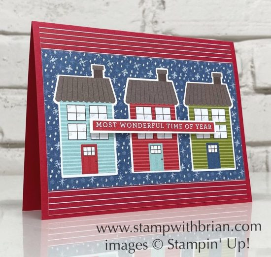 Trimming the Town, Heartwarming Hugs, Stampin Up!, Brian King