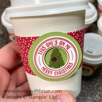Warm Hugs Bundle, Heartwarming Hugs Designer Series Paper, Mini Coffee Cups, Stampin Up!, Brian King