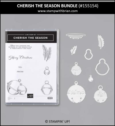 Cherish the Season Bundle, Stampin Up! 155154