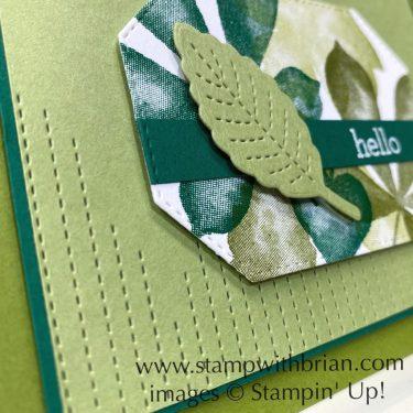 Love of Leaves Bundle, Stampin Up!, Brian King