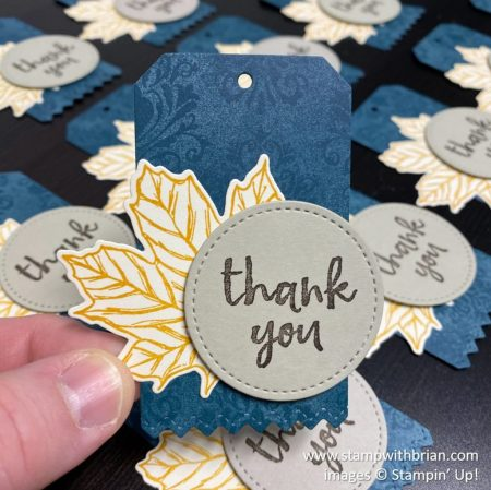 Massive Thanks, Gather Together, Stampin Up!, Brian King
