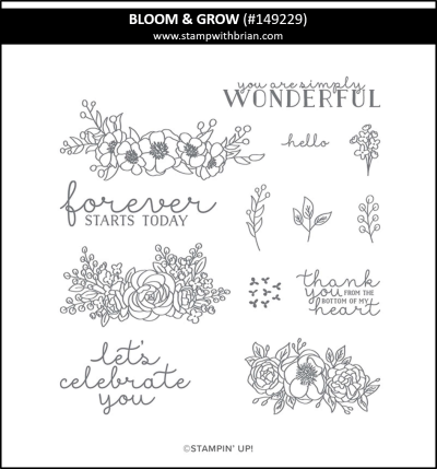 Bloom & Grow, Stampin Up! 149229