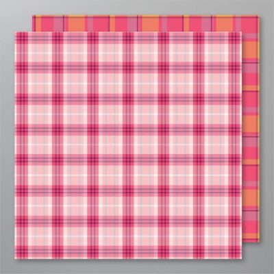 Plaid Tidings Pink Page, Stampin Up!